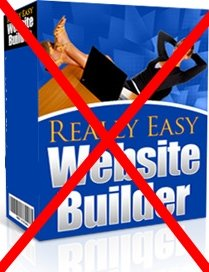Don't Use Easy Web Builders