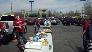 RED Day to support Big Brother and Big Sisters of Yellowstone County Greeting Table