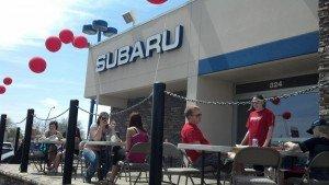 Rimrock Subaru & Keller Williams  RED Day Event