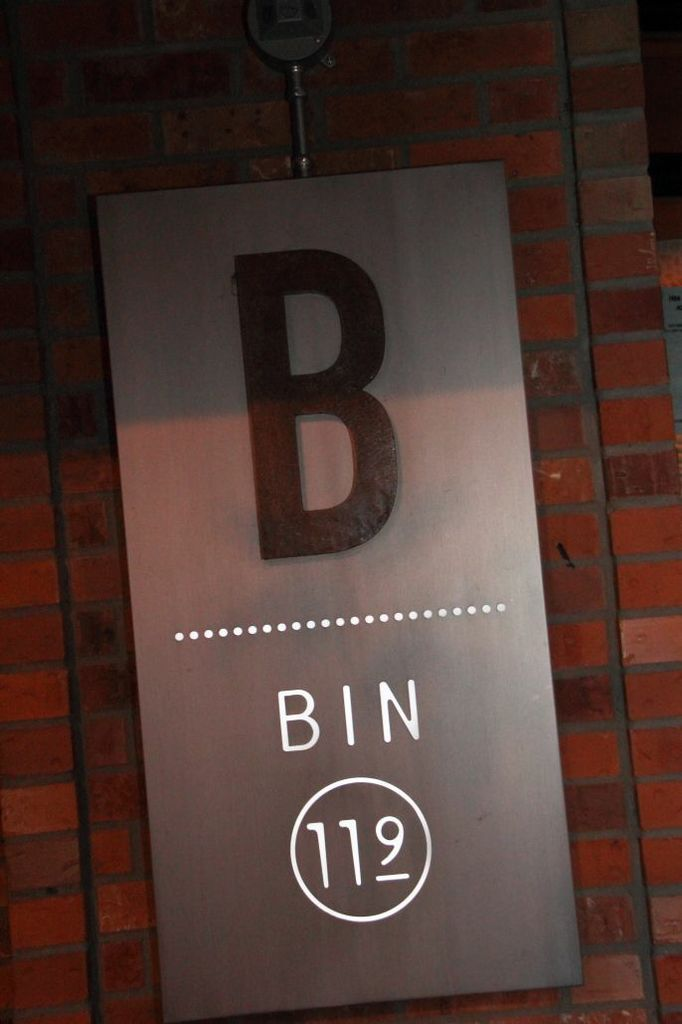 Bin 119 Logo
