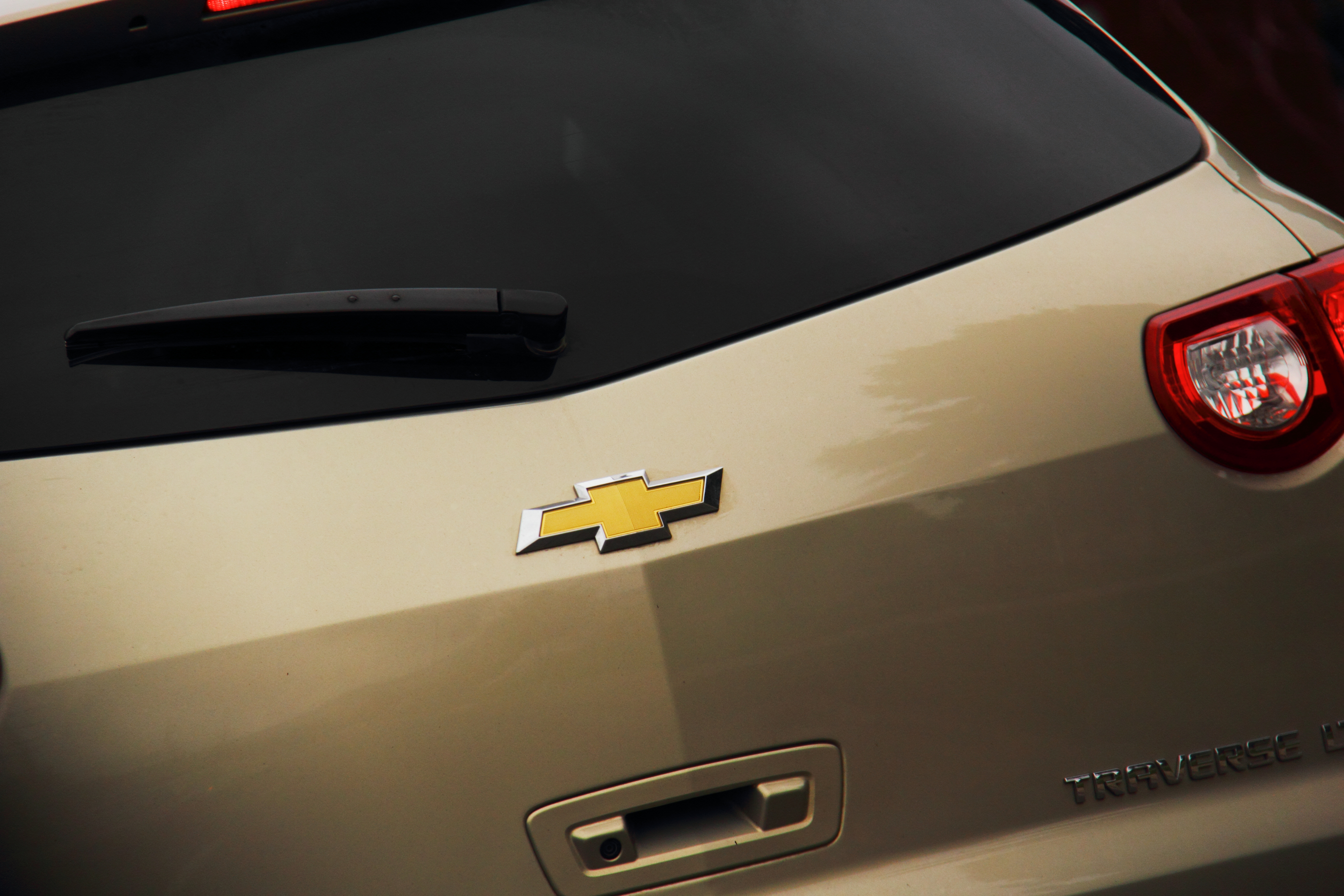 Chevy Symbol on Back of Vehicle