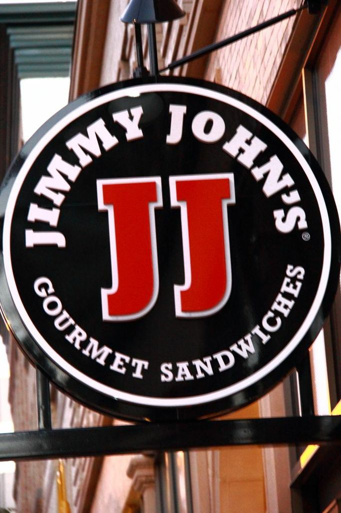 Jimmy Johns Circle Sign