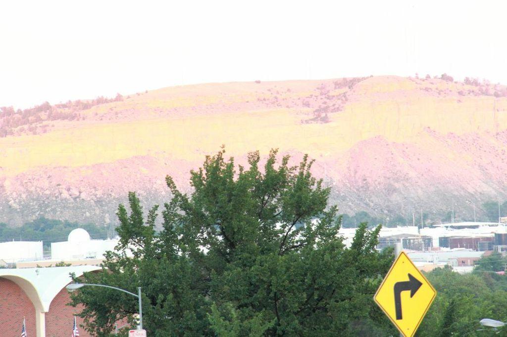 South hills of Billings