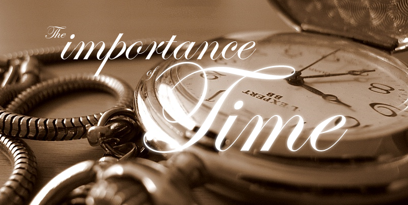 importance of time Free sample essay on the importance of time time is precious time is precious it is invaluable it is one of the powerful factors our life is measured in terms of.