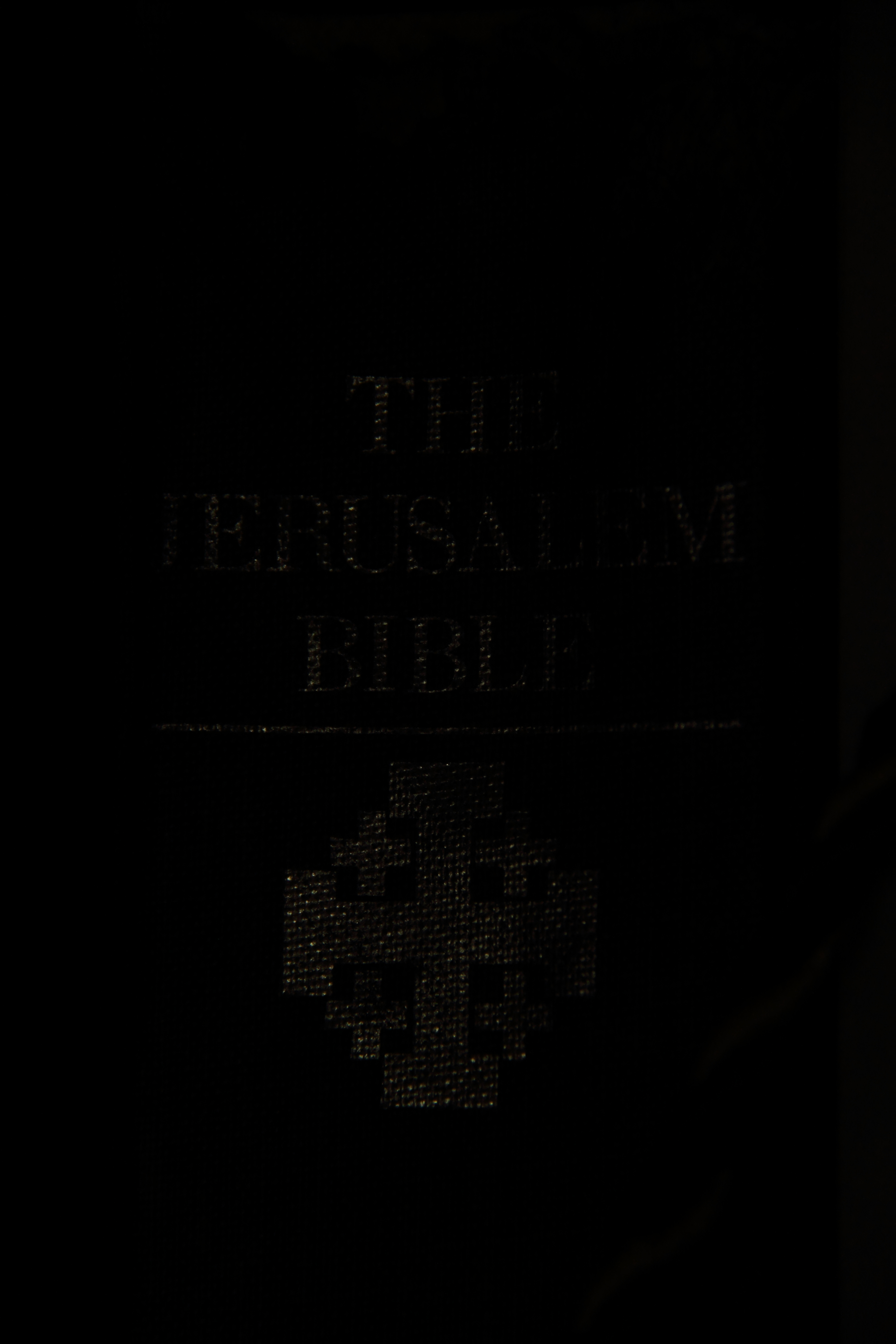 The Jerusalem Bible Cover