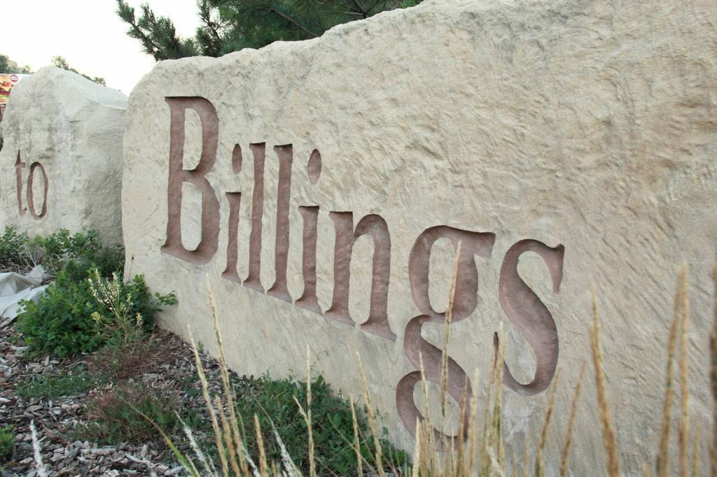 To Billings written in stone