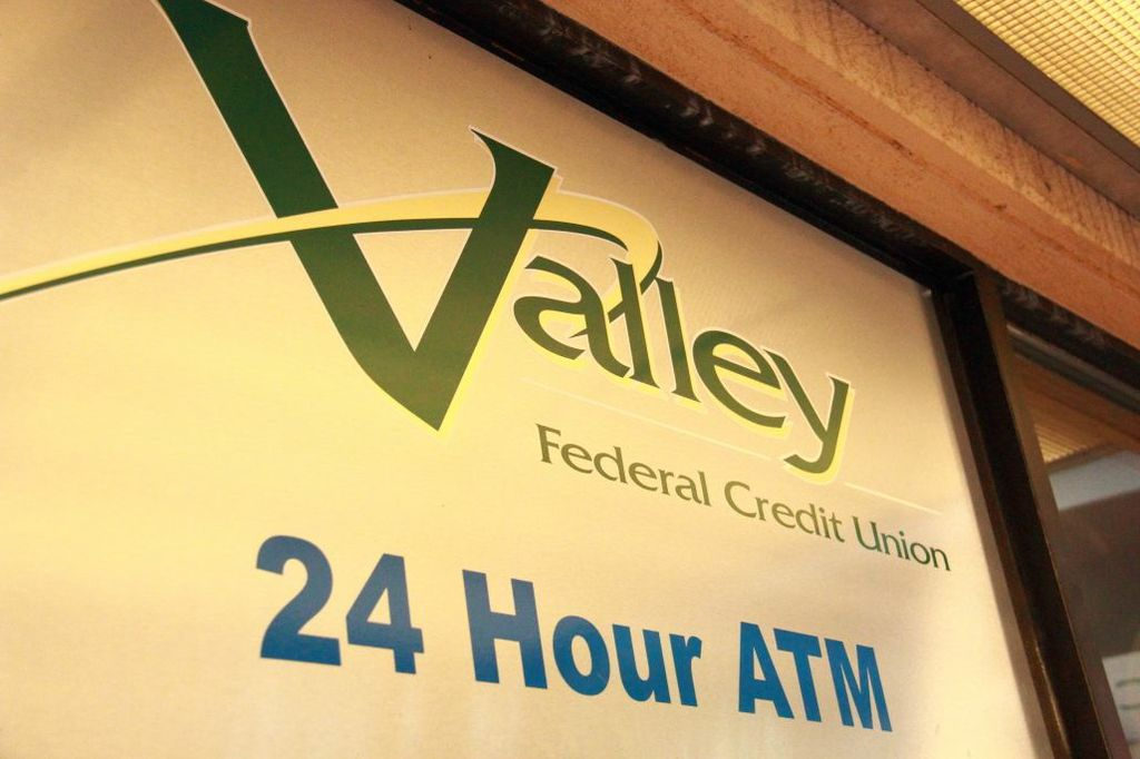 Valley Federal Credit Union 24 Hour ATM Sign