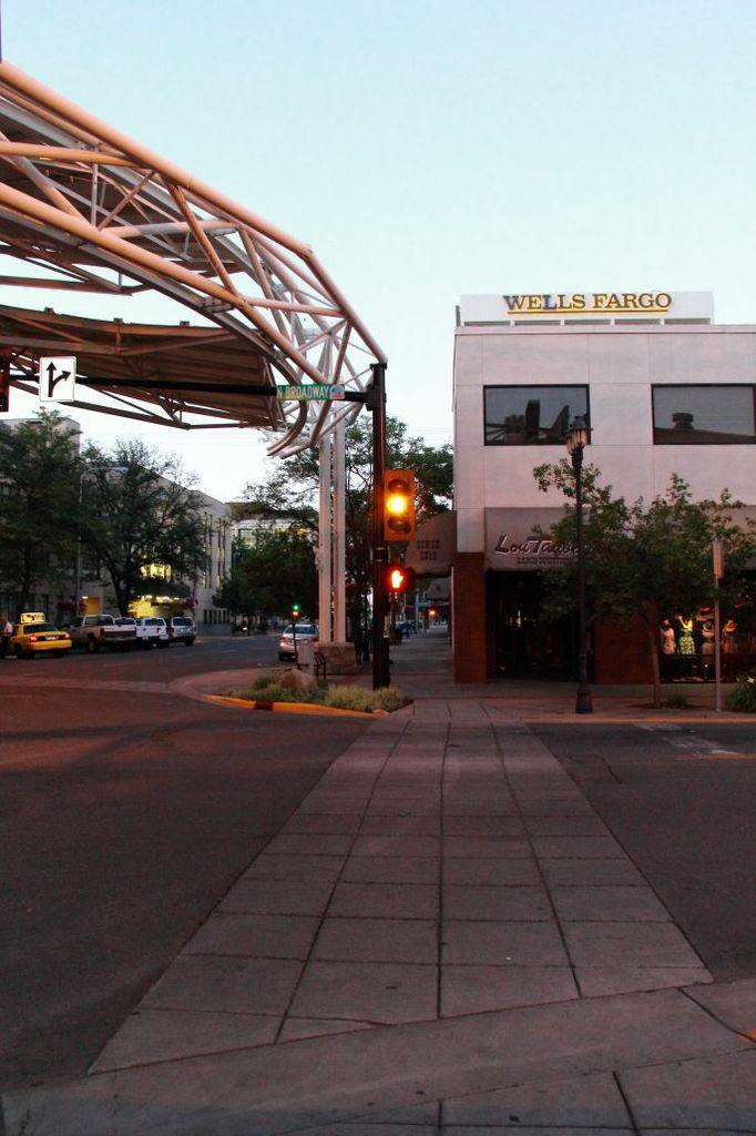 Wells Fargo Building viewed from Skypoint Billings Montana