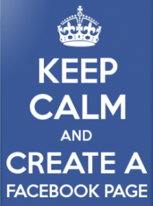 Keep Calm and Create a Facebook Business Page
