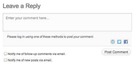 Removing Comments in WordPress