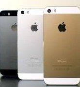 iPhone 5s black white gold