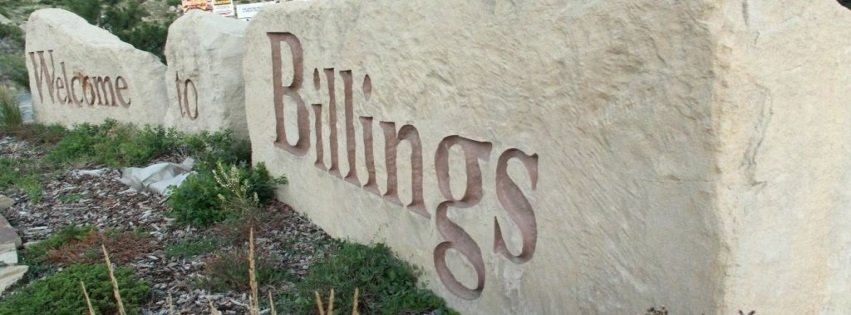Billings Facebook Cover Sign Welcome to Billings