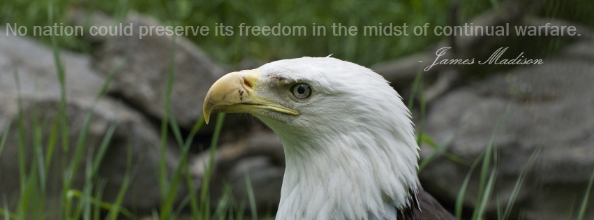 Freedom Quote James Madison Facebook Covers