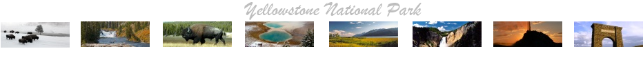 Yellowstone Park Facebook Covers Banner