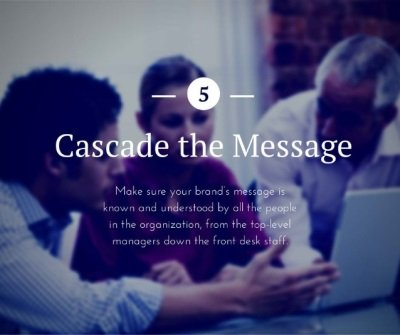 Cascade the Message