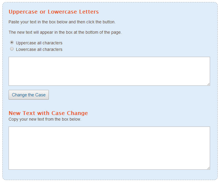 Change-Case-of-Letters