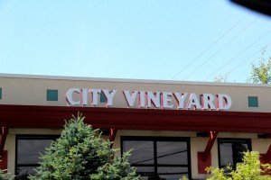 City Vineyard front of building Grand Ave Billings MT