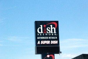 Dish Network Sign Grand Ave Billings Montana