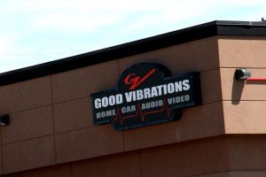 Good Vibrations Sign Grand Ave  Billings Montana