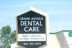 Grand Avenue Dental Care sign