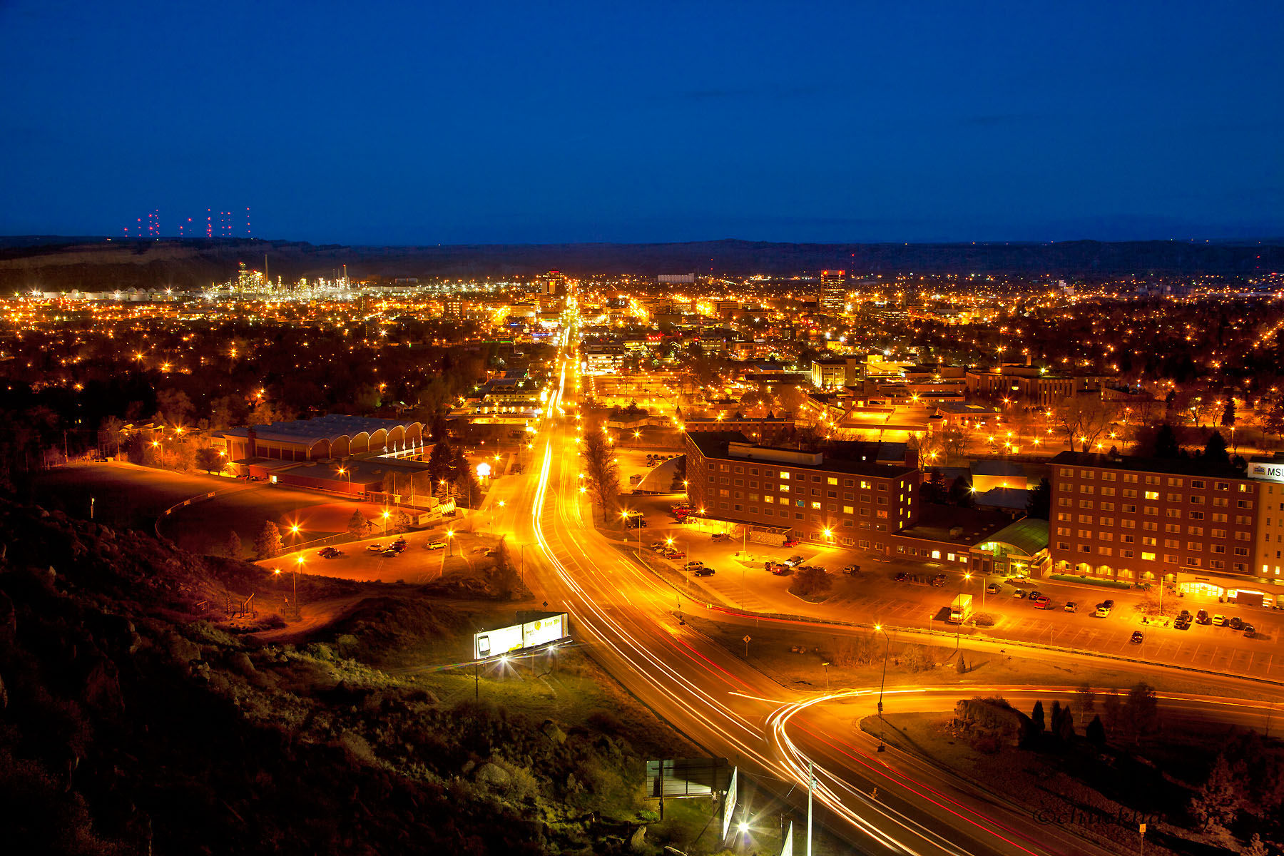 things to do in billings mt at night