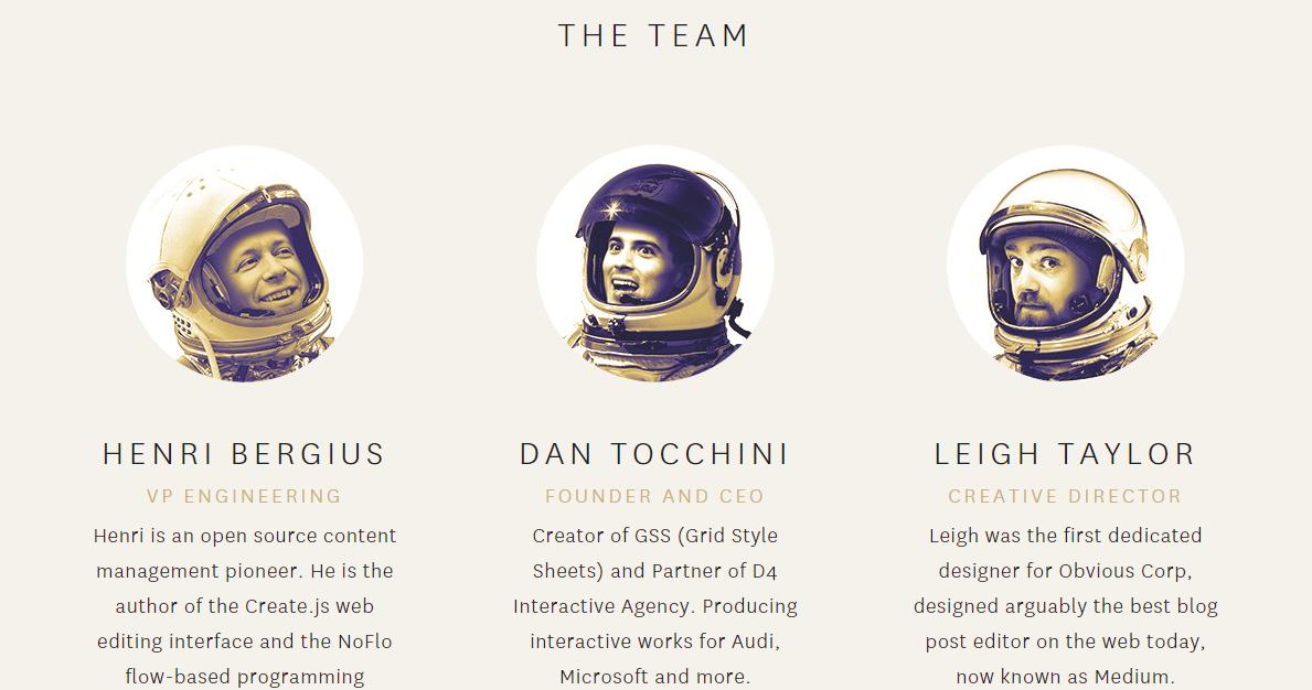 TheGrid.io The Team
