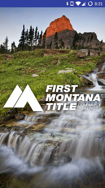 First Montana Mobile App Cover by SkyPoint Studios
