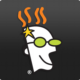 GoDaddy founder character logo